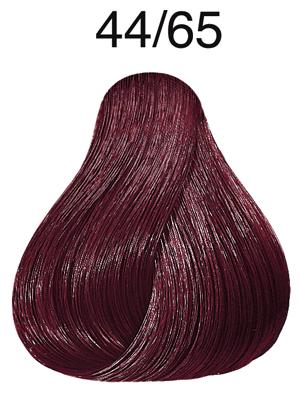 Vibrant Reds 44/65 mittelbraun intensiv violett-mahagoni - Wella - Farbe