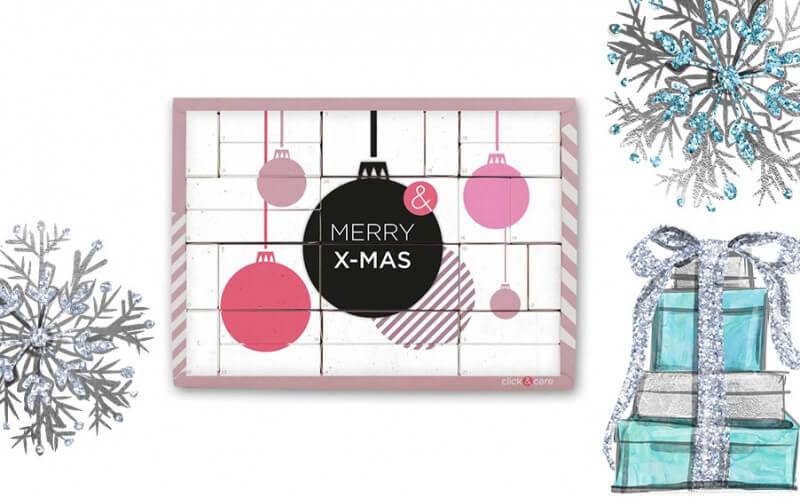Weihnachtsgeschenk Adventskalender