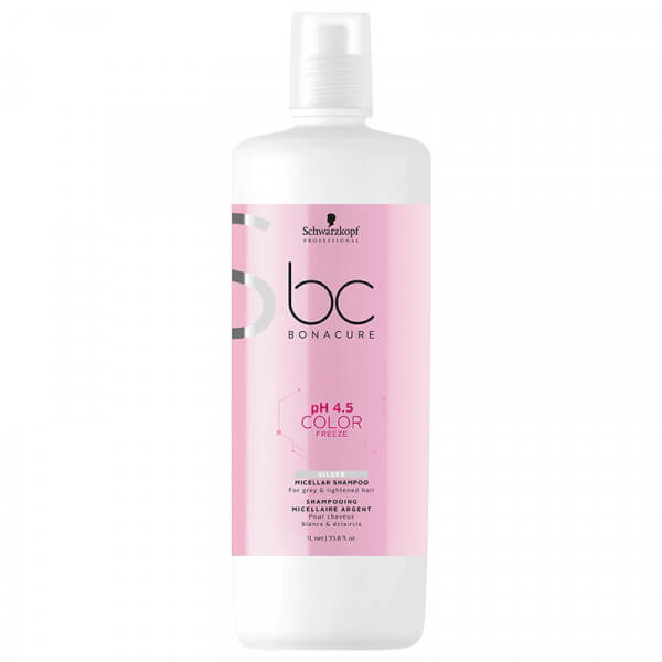 BC pH 4.5 Color Freeze Silver Micellar Shampoo Schwarzkopf