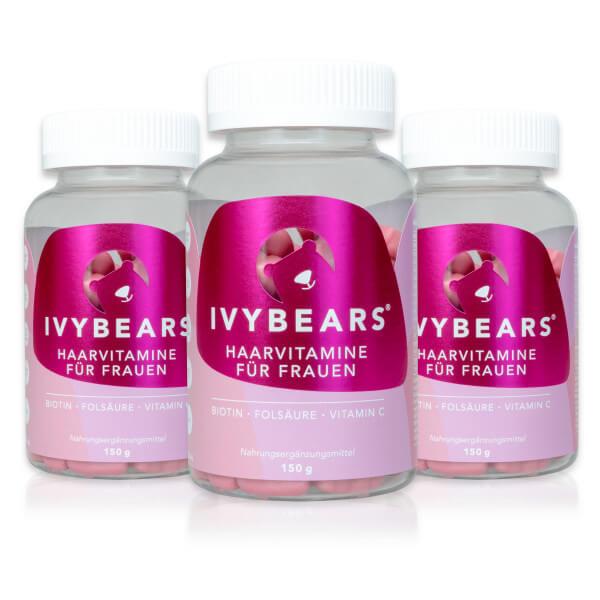 IVYBEARS 3 Monatspackung für Frauen (3 x 60)
