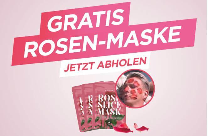 Gratis Rosen-Maske