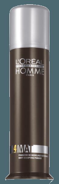 Homme Mat Haarpomade (80ml)