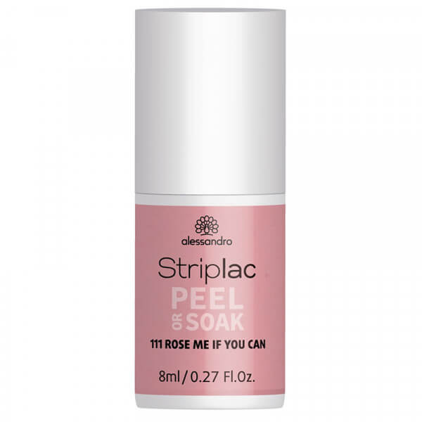 Striplac Peel or Soak - Rose Me If You Can