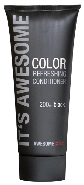 AWESOMEcolors Color Refreshing Conditioner Black 200 ml