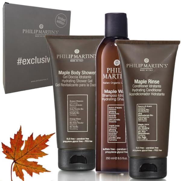 ExklusiveKit Maple Shampoo + Conditioner + Duschgel