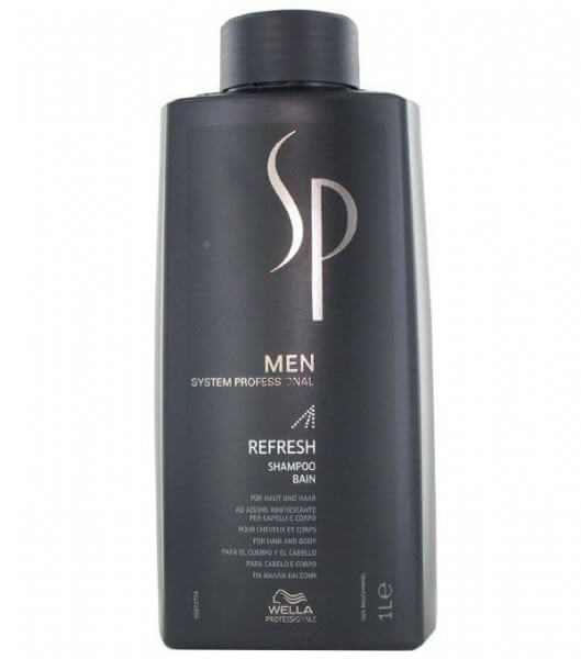 Wella System Professional Men Refresh Shampoo 1000 ml