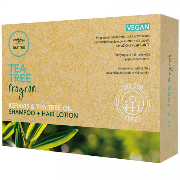 Tea Tree Hair Lotion Keravis & Tea Tree Öl (12x6 ml)