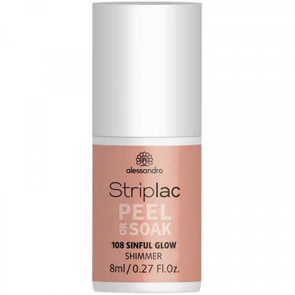 Striplac Peel or Soak - Sinful Glow