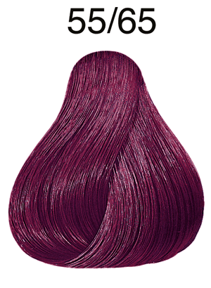 Color Touch Vibrant Reds 55/65 hellbraun intensiv violett-mahagoni