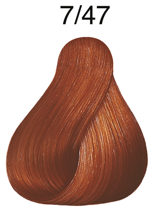 Vibrant Reds 7/47 mittelblond rot braun