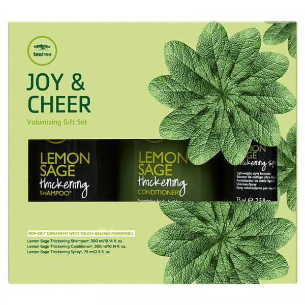 Joy & Cheer - Volumizing Gift Set - 675ml