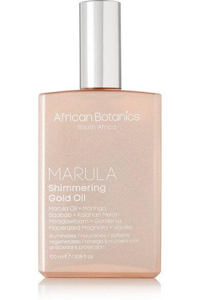 African Botanics Shimmering Gold Oil