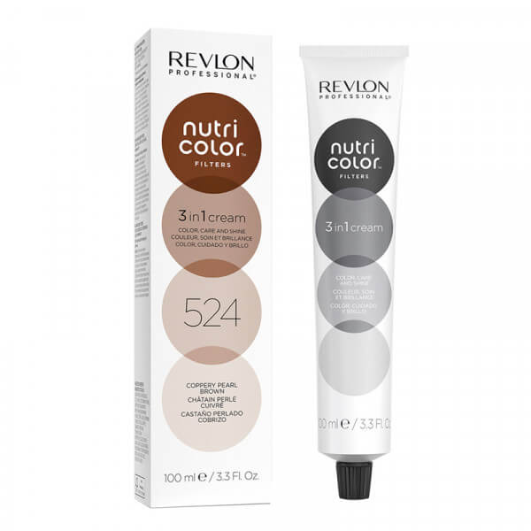 Revlon Nutri Color Creme 524 Coppery Pearl Brown - 100 ml