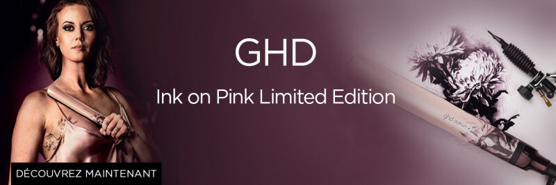 GHD Ink on Pink