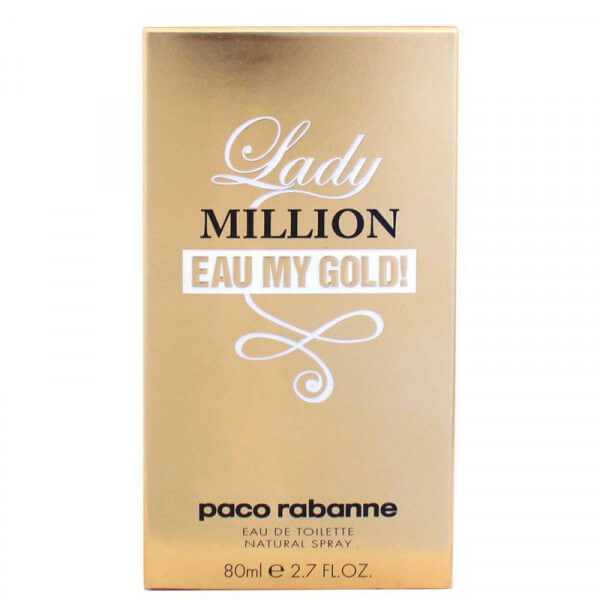 Lady MILLION eau my gold edt (80ml)