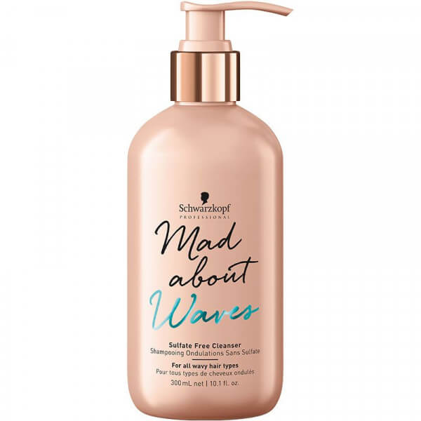Sulfate Free Cleanser Mad About Waves Schwarzkopf