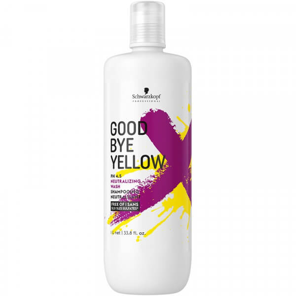 Schwarzkopf Goodbye Yellow Neutralizing Wash big