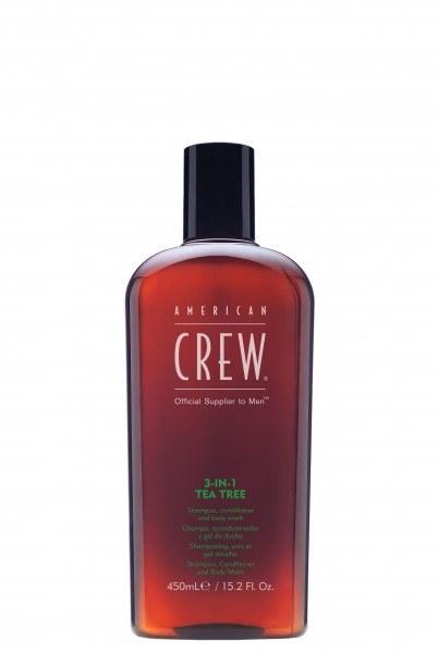 3-in-1 Tea Tree Shampoo Conditioner Body Wash (450ml)