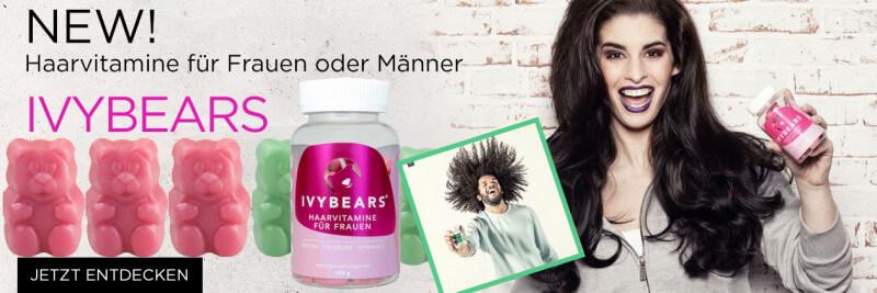 Ivybears Haarvitamine vegan