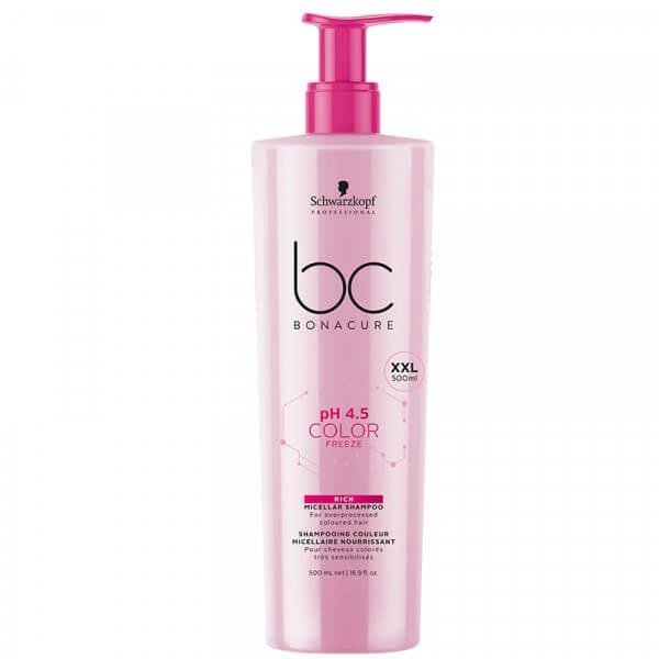 BC pH 4.5 Color Freeze Rich Micellar Shampoo von Schwarzkopf