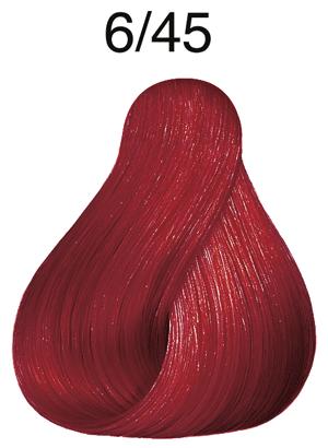 Vibrant Reds 6/45 dunkelblond rot-mahagoni
