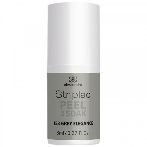 Striplac Peel or Soak - Grey Elegance