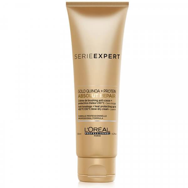 Blow Dry Cream Absolut Repair Gold Protein + Quinoa - 125ml