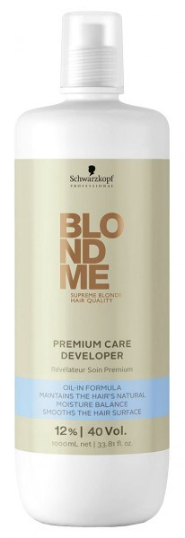 Schwarzkopf BLONDME Premium Care Developer 12% 1000 ml