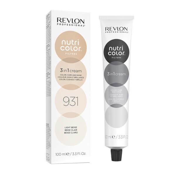Revlon Nutri Color Creme 931 Light Beige - 100 ml