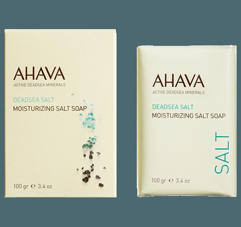 AHAVA Dead Sea Moisturizing Salt Soap (100g)
