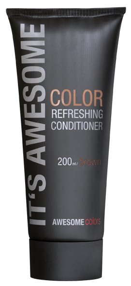 AWESOMEcolors Color Refreshing Conditioner Brown 200 ml
