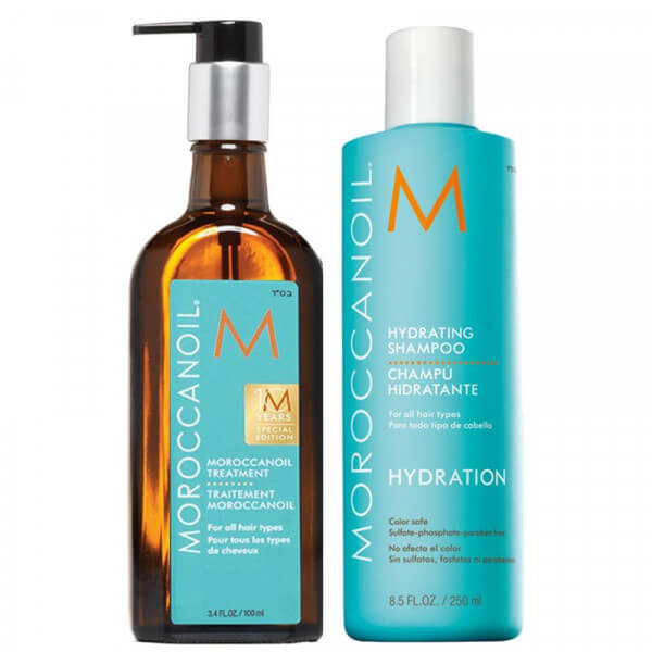 Hydration Shampoo 250ml + Treatment 100ml - Morrocanoil