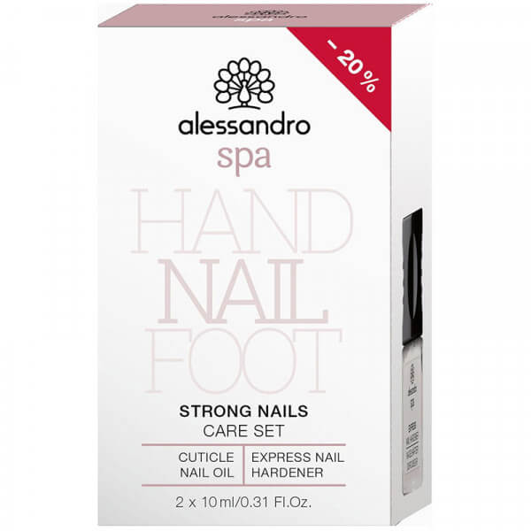 Spa Strong Nails Care Set - 2x10ml
