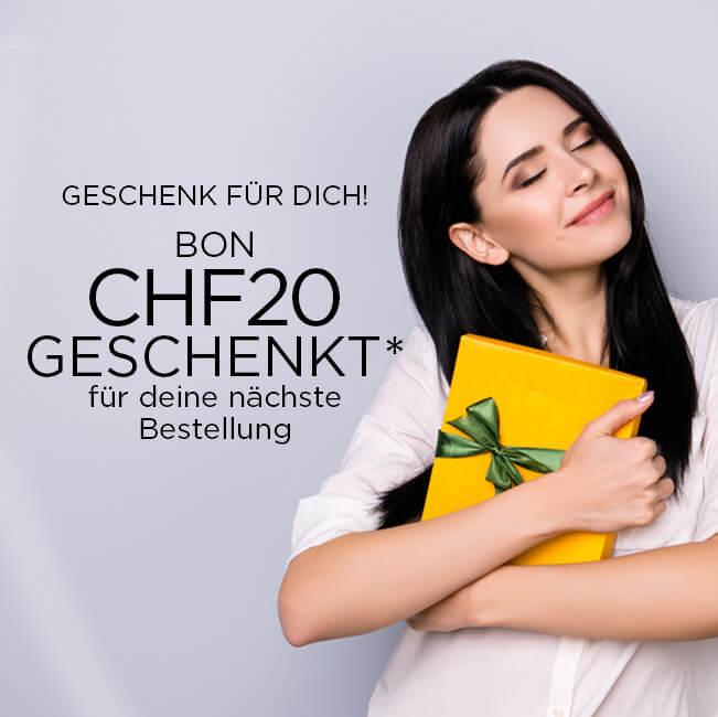 Geschenk für dich - CHF 20 Bon