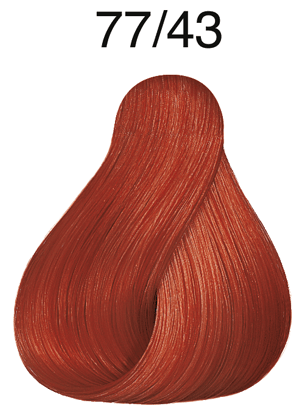 Vibrant Reds 77/43 mittelblond intensiv rot-gold