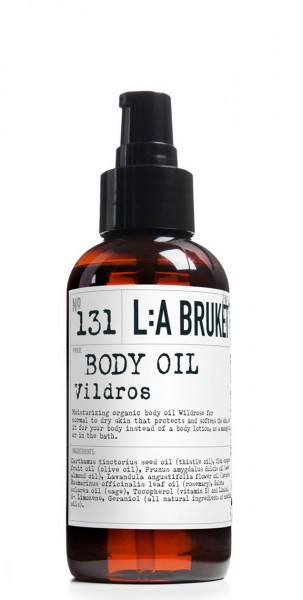 Body Oil 131 Wild Rose (120ml) L:A Bruket