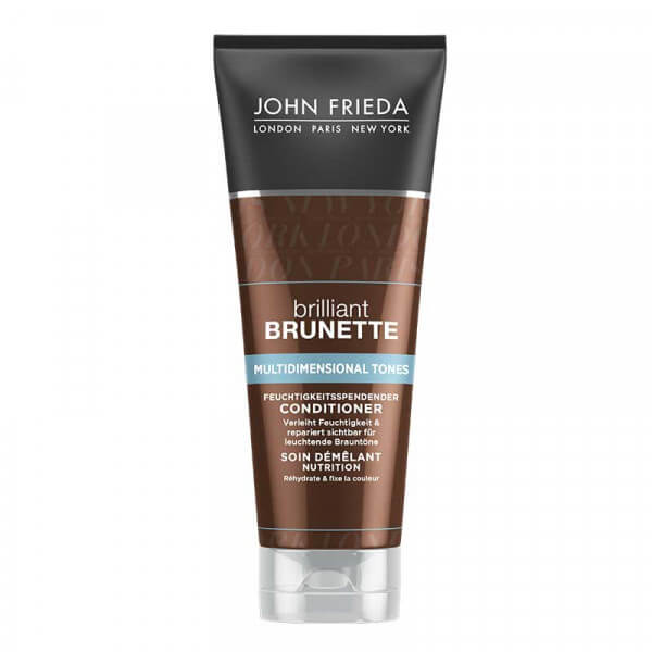 Brilliant Brunette Multidimensional Tones Conditioner John Frieda