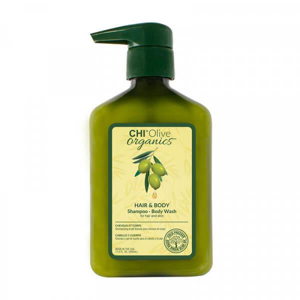 Olive Organic Hair & Body Shampoo - 340ml