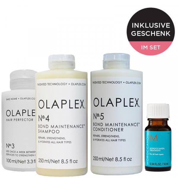 Olaplex Set No. 3, 4 und 5 + Geschenk