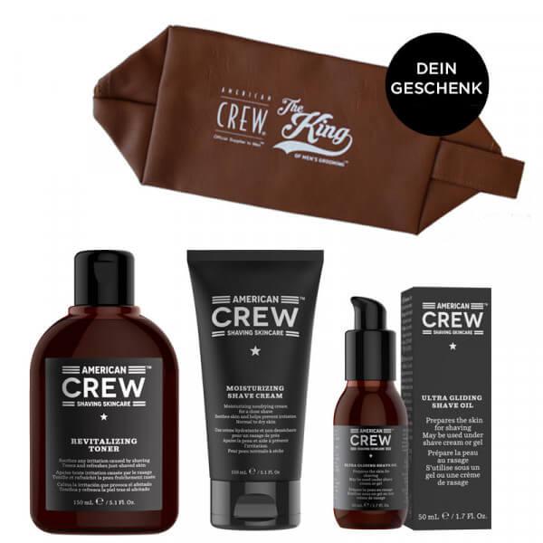 Shaving Skincare - Rasierset inkl. Necessaire - American Crew