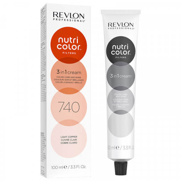 Revlon Nutri Color Creme 740 Light Copper - 100 ml