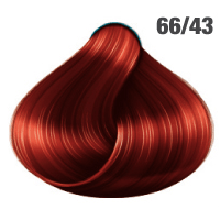 AWESOMEcolors Silky Shine 66/43 Dunkelblond Intensiv Rot-Gold 60 ml