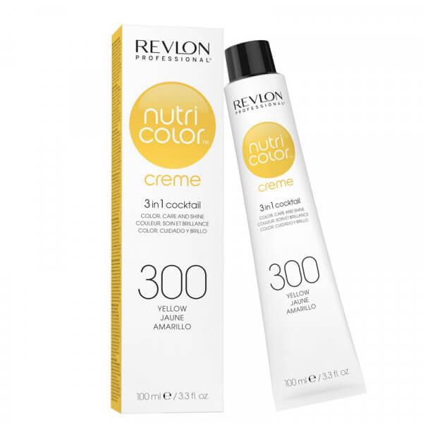 Revlon Nutri Color Creme 300 Yellow - 100 ml