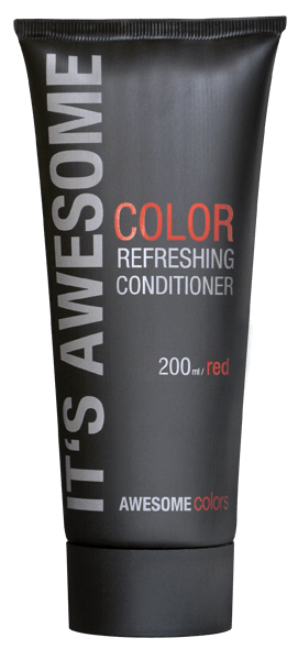 AWESOMEcolors Color Refreshing Conditioner Red 200 ml