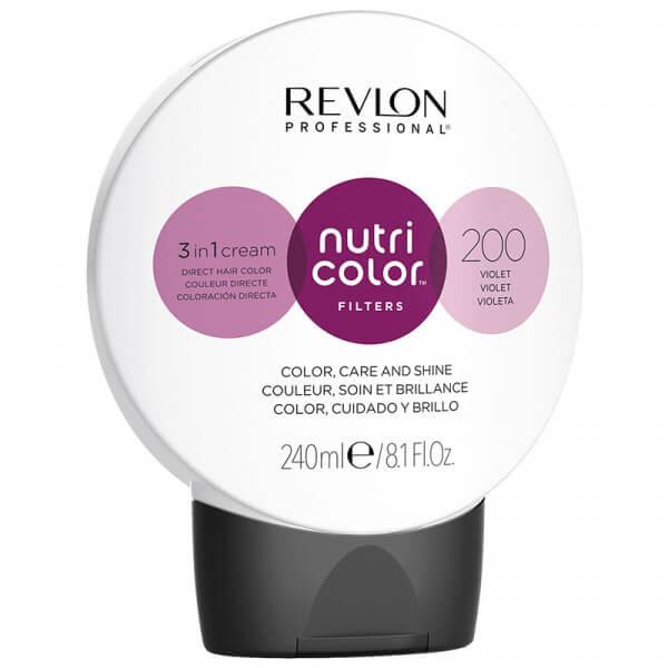 Revlon Nutri Color Creme 200 Violet - 240ml