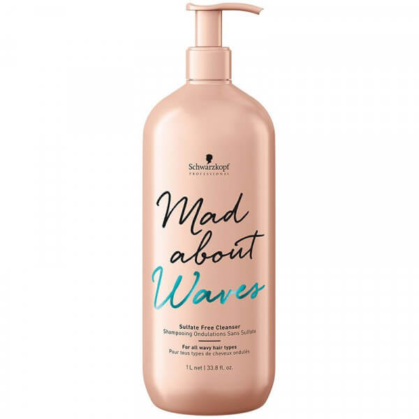 Sulfate Free Cleanser Mad About Waves Schwarzkopf gross