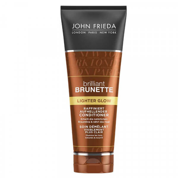 John Frieda Brilliant Brunette Lighter Glow Conditioner 250ml