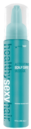 SexyHair Healthy Activating Scalp Care Thickening Treatment Mousse 200 ml