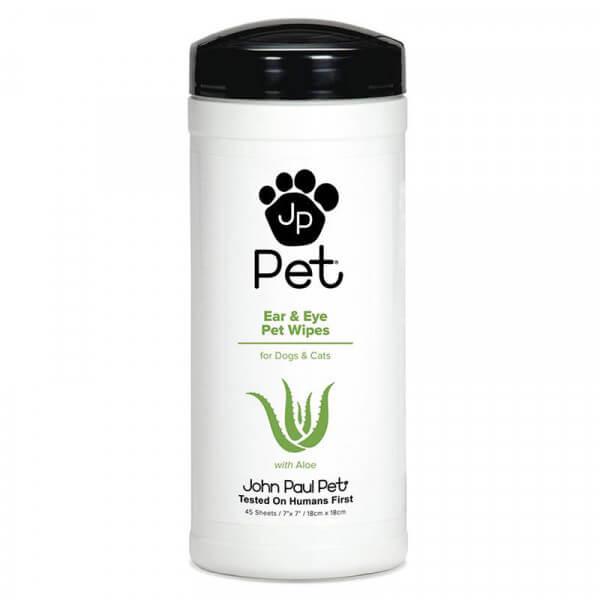 John Paul Pet Ear & Eye Pet Wipes