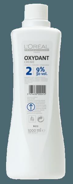 L'Oréal Oxydant Creme No. 2 = 30Vol. 9% (1000ml)